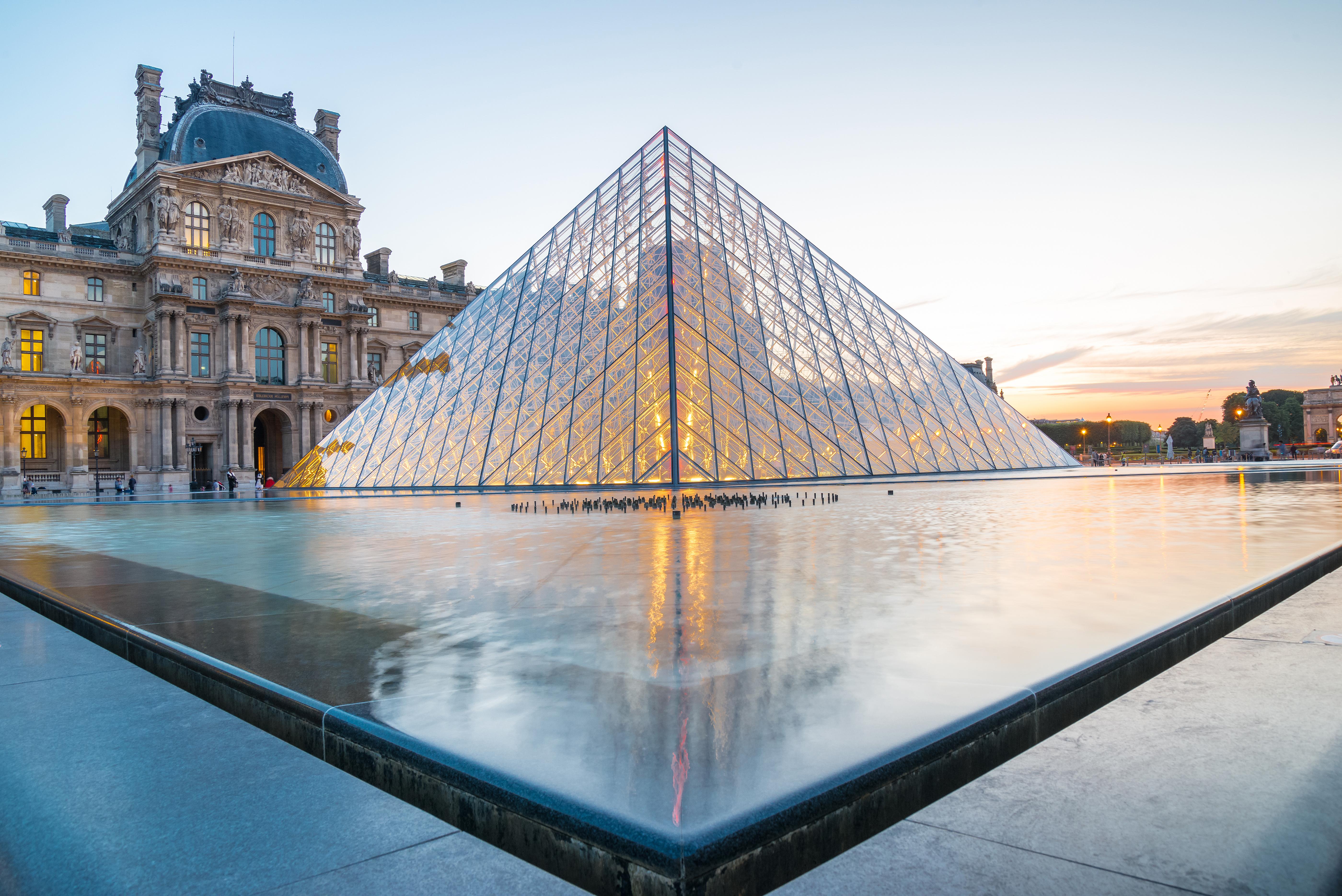 Le Louvre en couleur